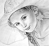 Obrazy - Portrét Laura - 5560516_