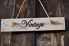 Tabuľky - Tabuľka VINTAGE - 5565183_