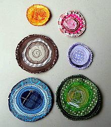 Galantéria - Kolieska textilne - 5565082_
