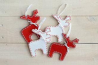 Dekorácie - Vianočný sobík - 5564512_