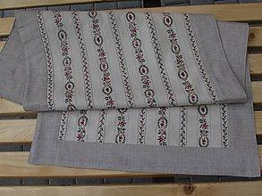 Úžitkový textil - Štóla na stôl elegan - 5564080_