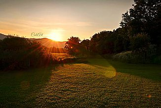 Fotografie - Keď je slnko nízko... - 5564375_
