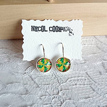 Náušnice - green - 5564220_