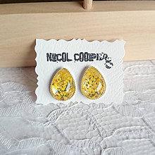Náušnice - yellow - 5564439_