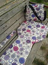Textil - set-podložka,taška,madlo-z nepremokavej kočíkoviny - 5567403_