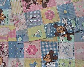 Úžitkový textil - Obliečky do škôlky s menom - 5567001_