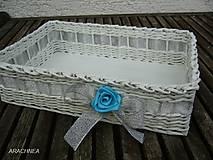 - Strieborno - nebeská svadba 30x22x9cm - 5570205_