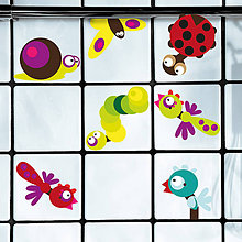 Dekorácie - Zvieratká v kúpelni - samolepky na stenu - 5571078_