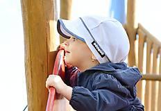 Detské čiapky - šiltovka  White & Denim - 5571362_