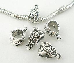 Korálky - Pandorkové úchytky na prívesky - 5568472_