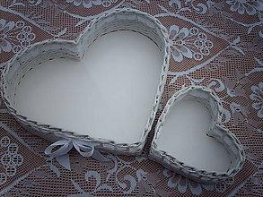 Košíky - Svadba - veľké a maličké.. - 5569277_
