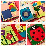 Hračky - Quiet Book - hravá kniha pre najmenších - 5573006_