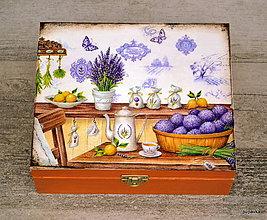 Krabičky - Levanduľková čajová - 5572748_