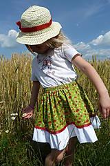 Detské oblečenie - Slnko, žito, jahôdky - akcia 50 % - 5575525_