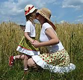 Sukne - Slnko, žito, jahody - akcia 50 % - 5575602_