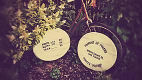 Dekorácie - Sudové dekle - SAUERKIRSCHSAFT - sada 2 ks - 5576248_