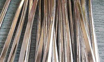 Suroviny - 65% Cín d 0,48 m / pr. cca 4 mm/1 ks - 5574098_