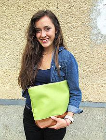 Kabelky - Ako zelené jabĺčko...SKLADOM (25€) - 5575053_