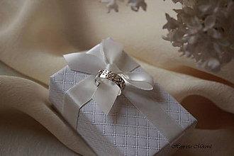 Prstene - obrúčka pre moju milú Trnavy - 5574400_