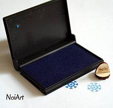 Farby-laky - Razítková poduška modrá - 5578998_