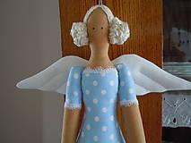 Bábiky - Modrá baletka - 5577860_