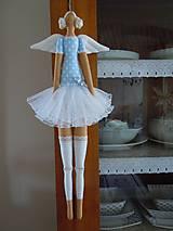 Bábiky - Modrá baletka - 5577861_