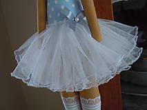 Bábiky - Modrá baletka - 5577868_