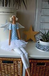 Bábiky - Modrá baletka - 5577870_