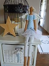 Bábiky - Modrá baletka - 5577871_