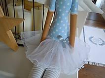 Bábiky - Modrá baletka - 5577872_