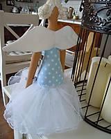 Bábiky - Modrá baletka - 5577873_