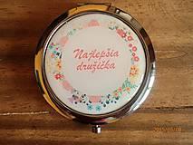 Zrkadielka - Zrkadielko pre naj družičku :) - 5579707_