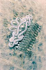 Ozdoby do vlasov - Wedding day - hrebienok - 5579019_