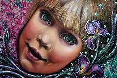Obrazy - maľované zlatíčko v megaveľkosti :) - 5583326_
