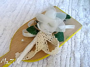 Pierka - svadobné pierko Vintage III. - 5582013_