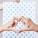 Nezaradené - Dočasné tetovačky - Svadobné - 5583314_