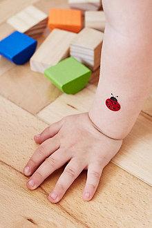 Detské doplnky - Dočasné tetovačky - Detičky - 5583396_