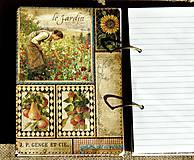 Papiernictvo - Luxusný receptár na chalupu 2 - 5582783_
