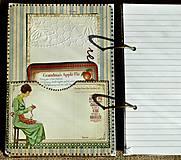 Papiernictvo - Luxusný receptár na chalupu 2 - 5582787_