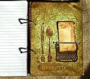 Papiernictvo - Luxusný receptár na chalupu 2 - 5582790_