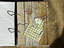 Papiernictvo - Luxusný receptár na chalupu 2 - 5582794_
