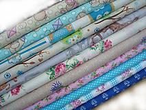 Textil - Látka modrotlač - 5583573_