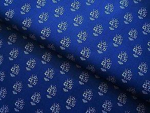 Textil - Látka modrotlač - 5583571_