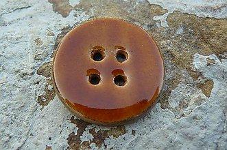 Materiál ručne robený - Gombíky medové* - 5583540_