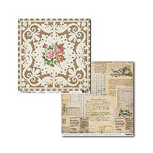 Papier - Papier obojstranný 30,5x30,5cm I love cooking - Recipes - 5585091_
