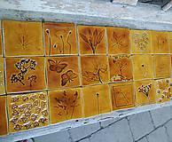 Dekorácie - kachličky bylinkové - 5583793_