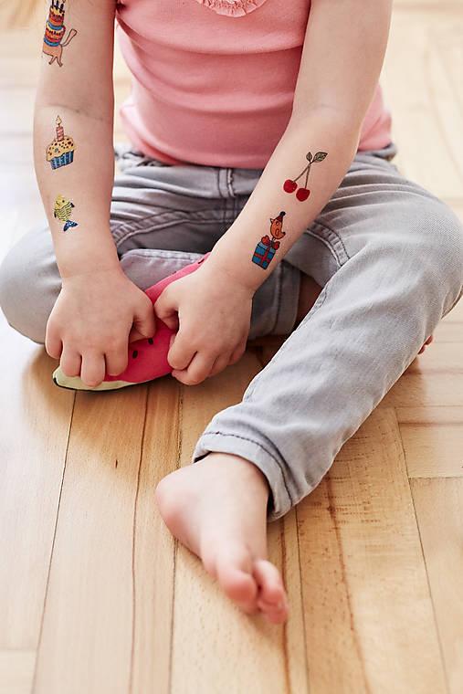 Dočasné tetovačky - Párty