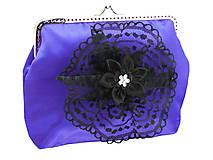 Dámská spoločenská kabelka  modrá 1190A2