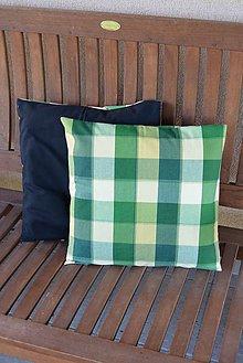 Úžitkový textil - _Kocka... zelená & žltá - 5588872_