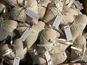 Darčeky pre svadobčanov - Srdiečko svadobné - 5590191_